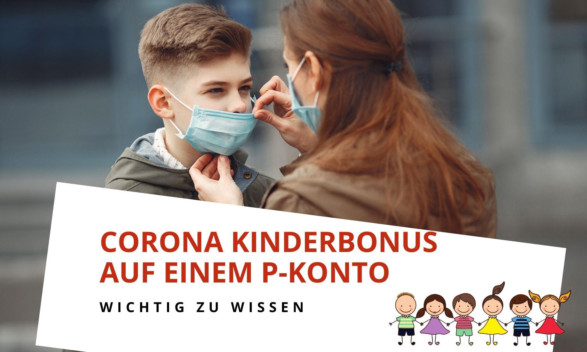 Corona-Kinderbonus und Kontopfändung auf einem P-Konto (Update 31.08.2020)