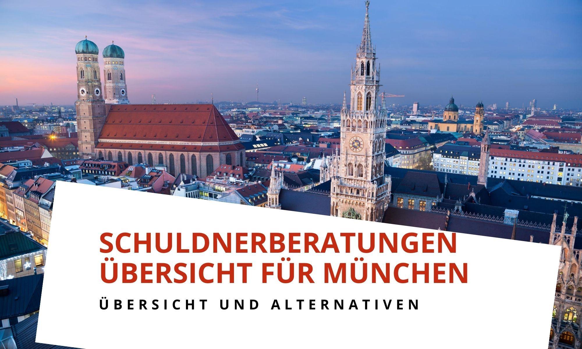 Schuldnerberatungsstellen in München
