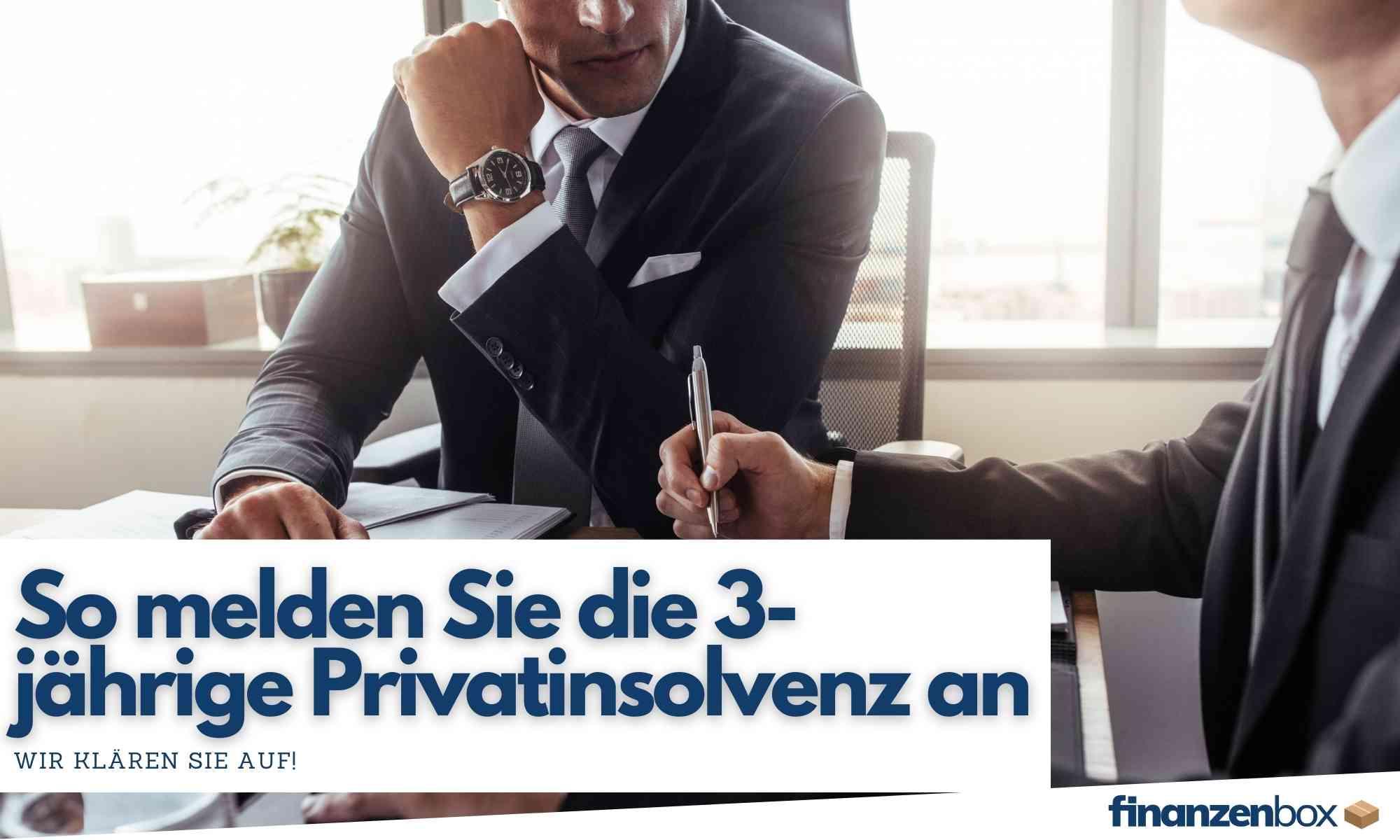 Privatinsolvenz Wie Geht Das
