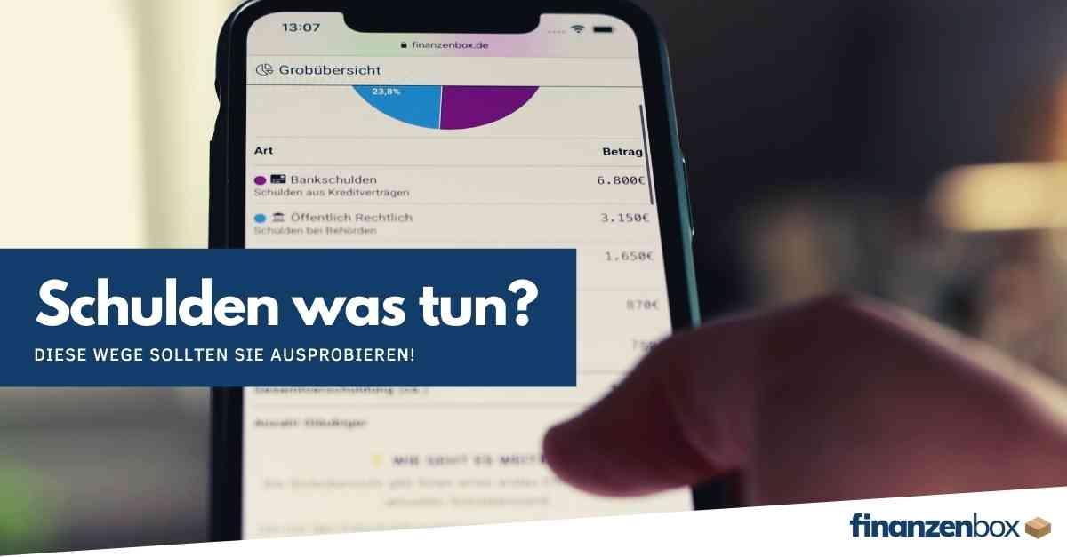 Schulden - was tun?