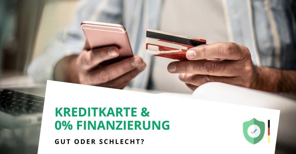 Sollte ich Kreditkarten aus 0%-Finanzierungsangeboten verwenden?