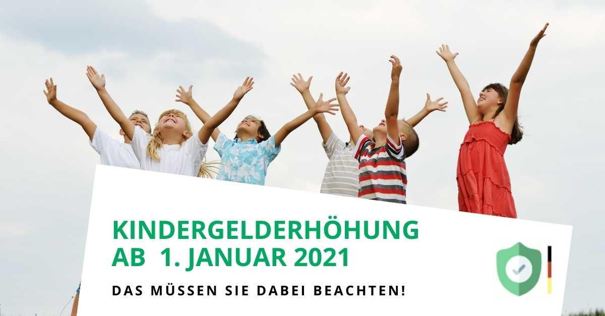 Kindergelderhöhung ab 1. Januar 2021 um 15 Euro pro Kind - Was Sie bei einem P-Konto beachten müssen!