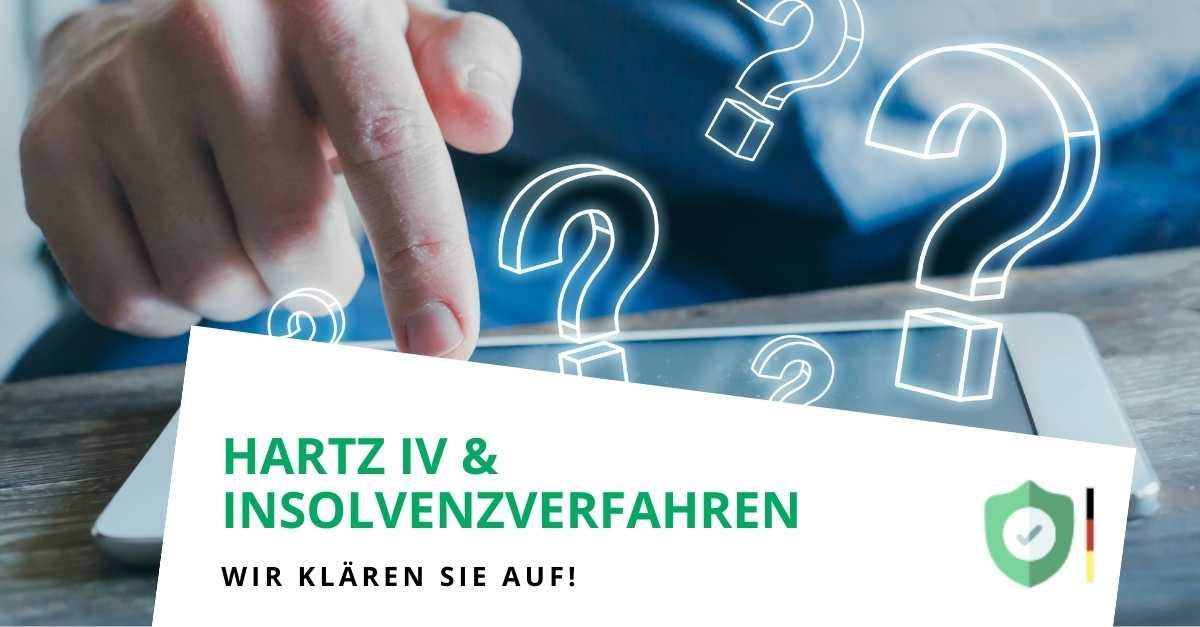 Ist ein Insolvenzverfahren mit Hartz IV möglich?
