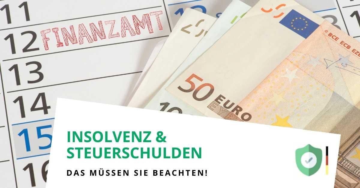 Steuerschulden in der Insolvenz