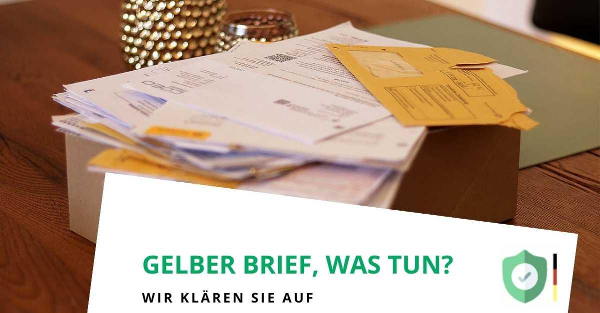 Gelber Brief, was tun?